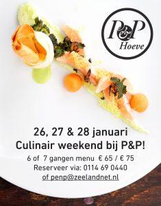 Culinair weekend bij P&P 2018